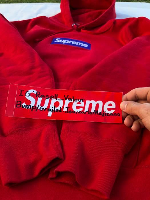2e85aeaa902d Supreme Supreme Bogo Hoodie Purple On Red Size m - Sweatshirts ...