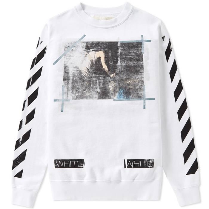 027f49ab42 Off-White Caravaggio Crewneck Sweater Size xs - Sweaters   Knitwear ...