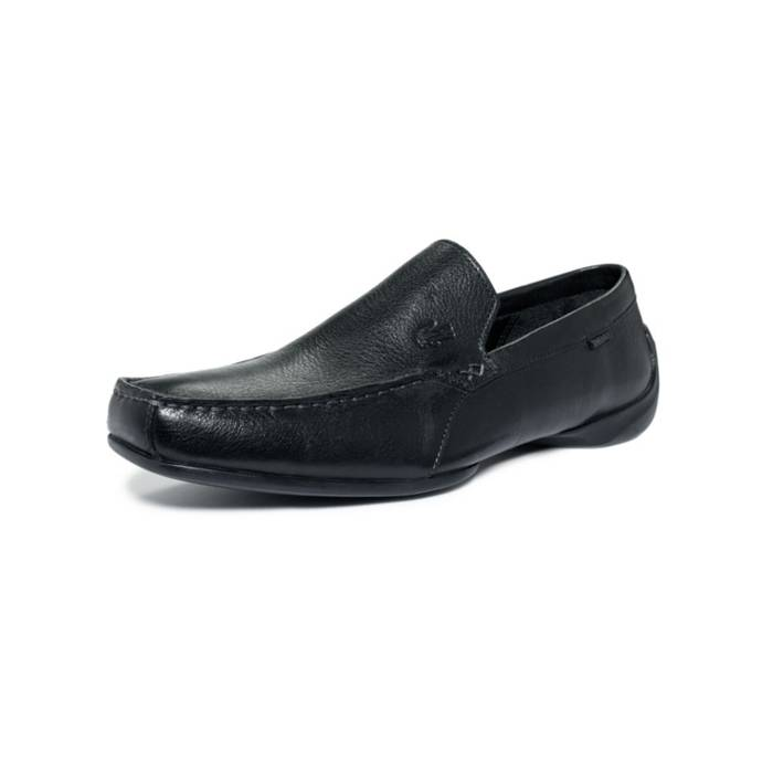 38a8ba7ff310f Lacoste Rich Black Leather Loafers Size 8.5 - Formal Shoes for Sale ...