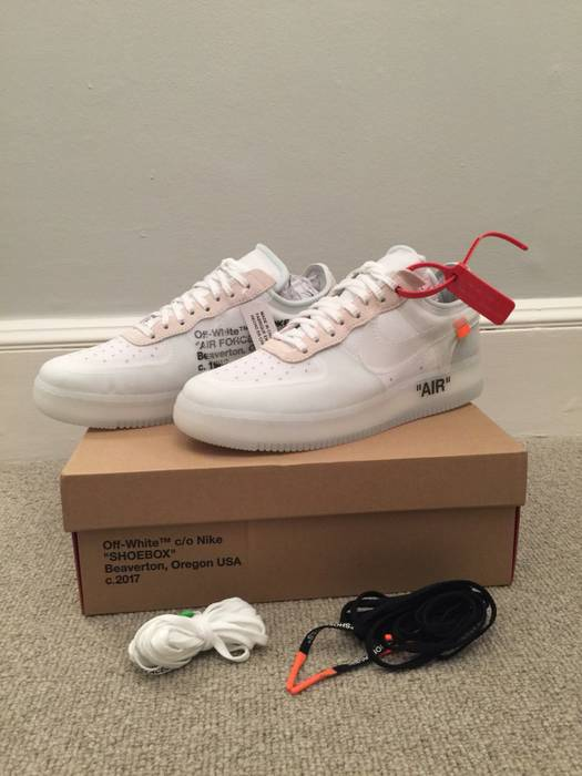 Nike Off White X Nike Air Force 1 Size 10 - Low-Top Sneakers for ... 27b2b4e4f