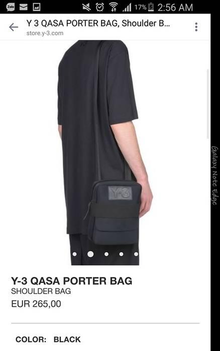 a4896044280f Y-3 BRAND NEW Y-3 QASA YOHJI YAMAMOTO Y3 PORTER SHOULDER BAG RETAIL ...