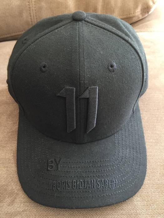 11 By Boris Bidjan Saberi Black New Era Hat Size one size - Hats for ... 97dd41331c3a