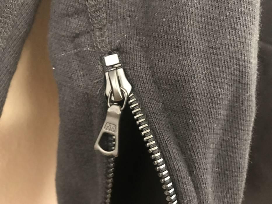 183d9ef66d74b John Elliott Rare Midnight Black Villain Hoodie Sample W Black riri zippers  Size US L
