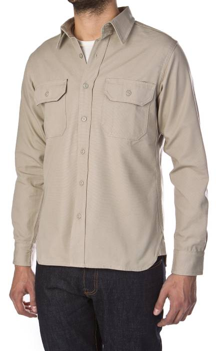 8c5f3162064 Tellason Khaki Clampdown Shirt Size l - Shirts (Button Ups) for Sale ...