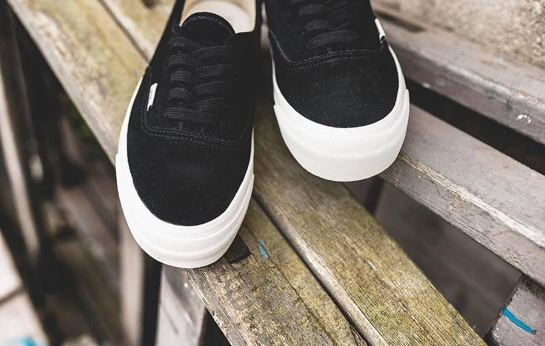 8fe5eee1f5 Vans Vans Vault OG Authentic LX Black Suede Size US 12   EU 45 - 1