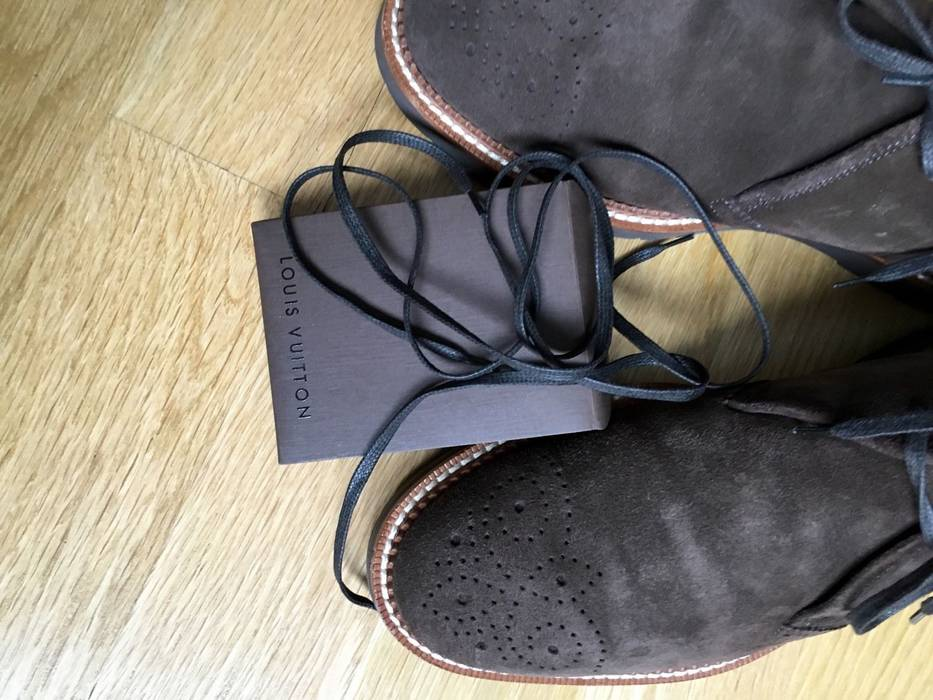 Louis Vuitton Desert Boots Size 9 Boots For Sale Grailed