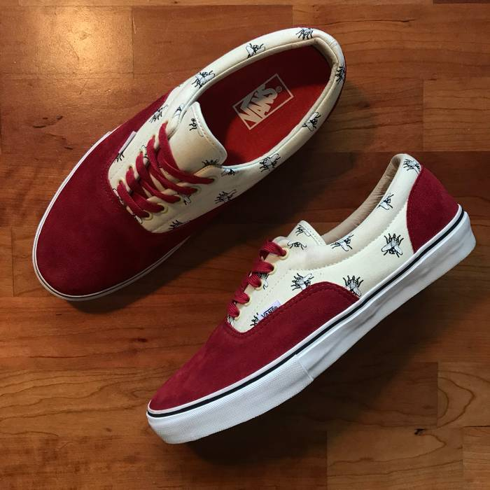 Supreme Supreme Vans Fly Era Pro Burgundy 12 Size 12 - Low-Top ... 8f78a9ab9