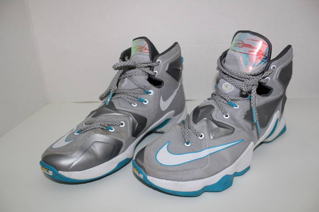 """586852ce5cdc Nike Lebron 13 """"Blue Lagoon"""" Size 10.5 - Hi-Top Sneakers for Sale ..."""