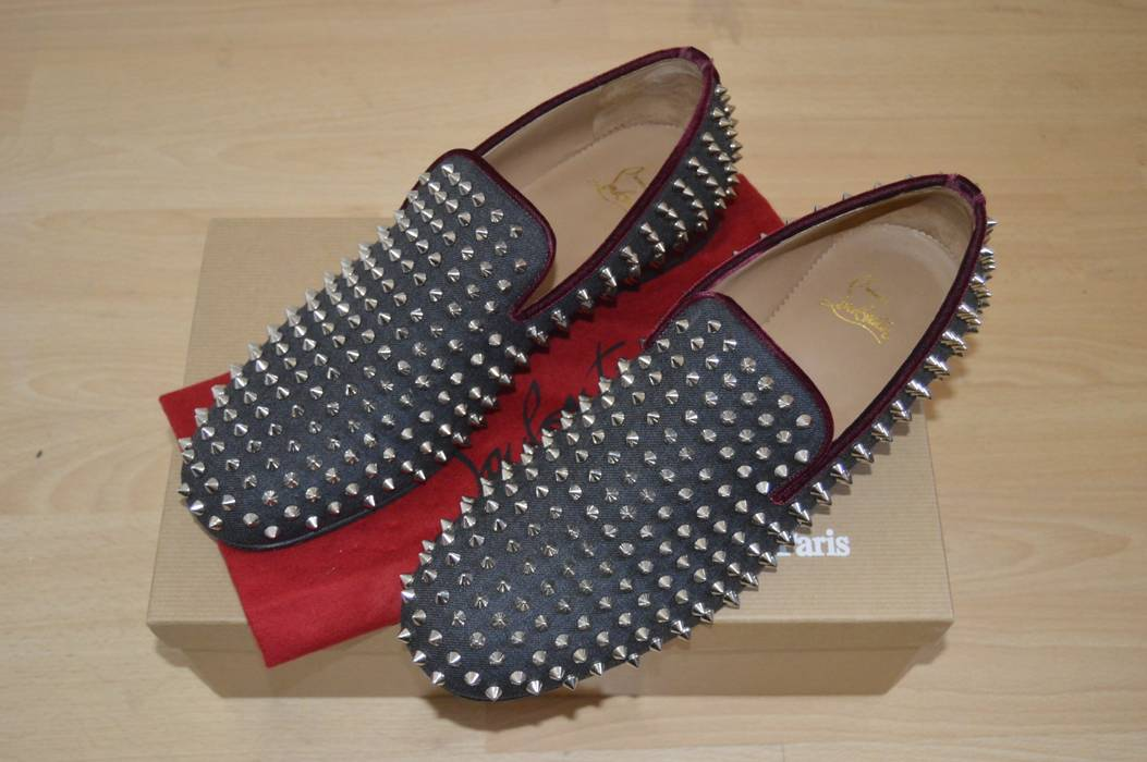 da48b839f87 Christian Louboutin Flannel Velvet Rollerboys Size 10 - for Sale ...