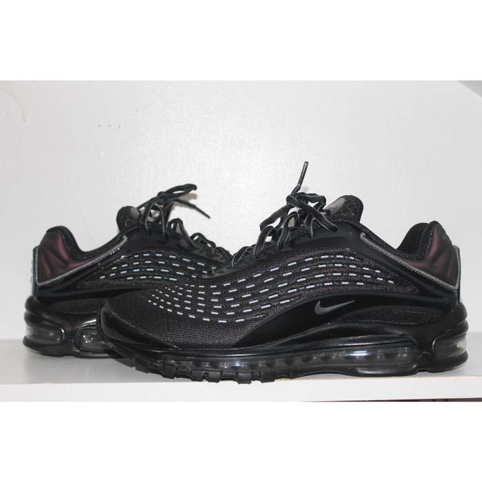 check out 61224 8130a Nike. AIR MAX DELUXE TRIPLE BLACK. Size  US ...