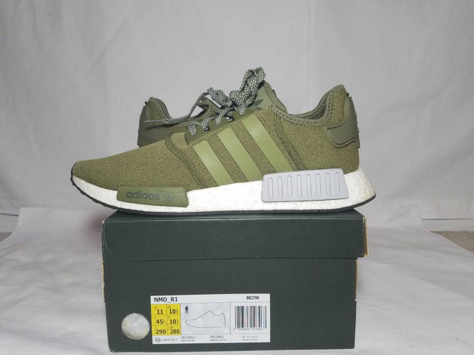 3b44e44a61837 Adidas Adidas NMD R1 Olive Size 11 - Low-Top Sneakers for Sale - Grailed