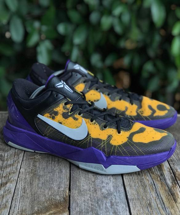 Nike Kobe 7 Poison Dart LAL Size 10 - Low-Top Sneakers for Sale ... b12117169344