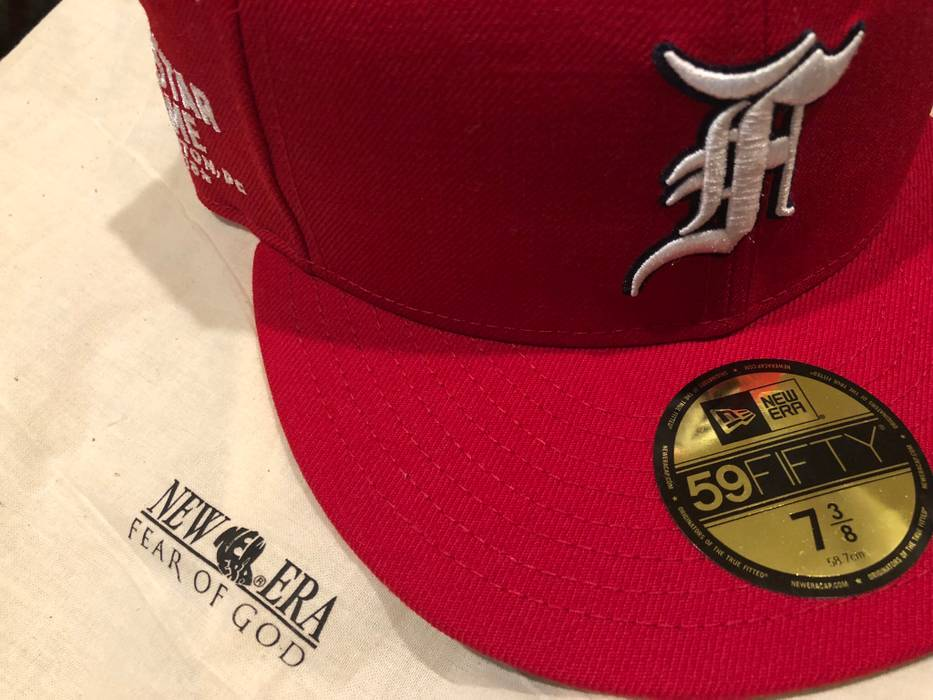c9003b22e7a New Era Fear Of God New Era All Star Cap 7 3 8 Size one size - Hats ...