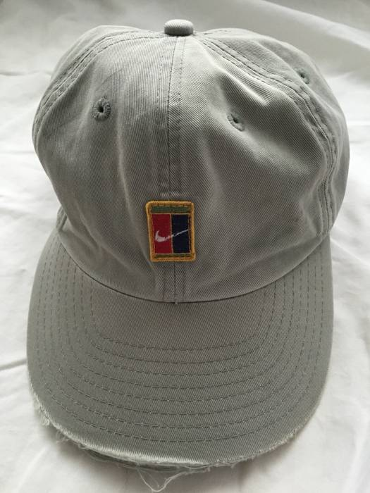 Nike Rare Vintage Nike Court Hat Size one size - Hats for Sale - Grailed a9fc757dc374