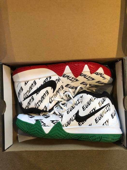 """Nike Kyrie 4 """"BHM"""" Size 14 - Hi-Top Sneakers for Sale - Grailed c22a43dc399f"""