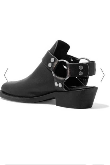 e5a4b24fd884 Balenciaga Harness-Strap Leather Mules Size 6.5 - Boots for Sale ...