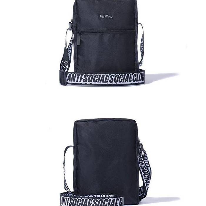 Antisocial Social Club Assc Side Bag Size One