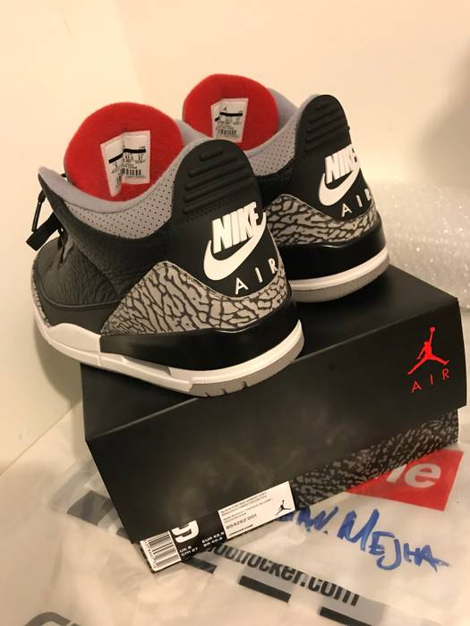 f44a2784e24c Nike Black Cement 3 (2018 Release) Size 9 - Low-Top Sneakers for ...