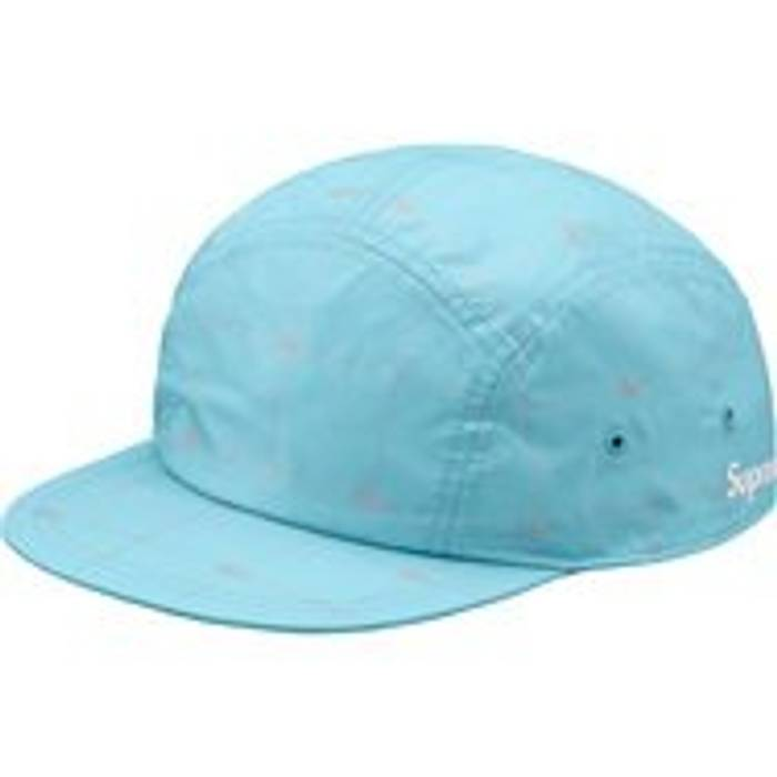 Supreme Lacoste Camp Cap Blue S S 18 Size one size - Hats for Sale ... 27a2615190b