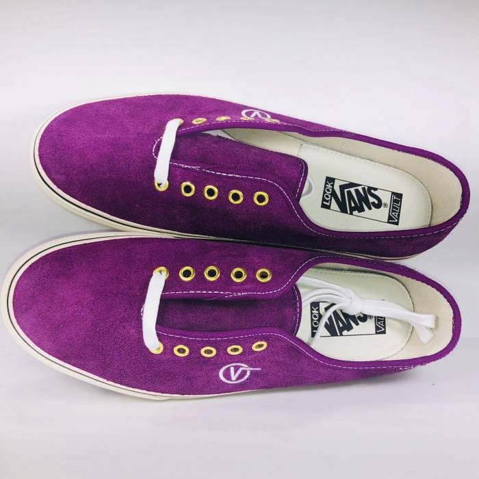 99767fa129c8b6 Vans Vans Authentic One Piece LX (LQQK) Grape Juice Translucent Gum Sneakers  Size US