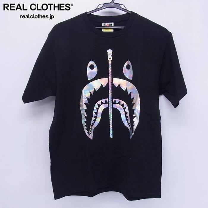 d99cf967cde9 Bape Free Shipping A Bathing Ape Black T Shirt Size l - Short Sleeve ...