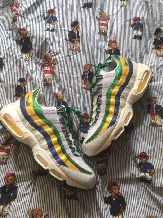 promo code d75e9 0f6f0 Nike. 2006 Air Max 95 Brazil World Cup VNDS