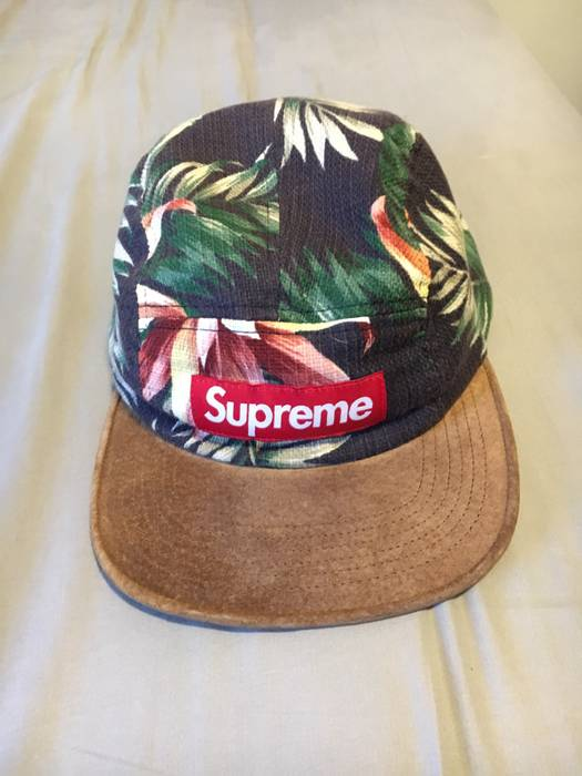Supreme Floral Camp Cap Size one size - Hats for Sale - Grailed 703eba5b170