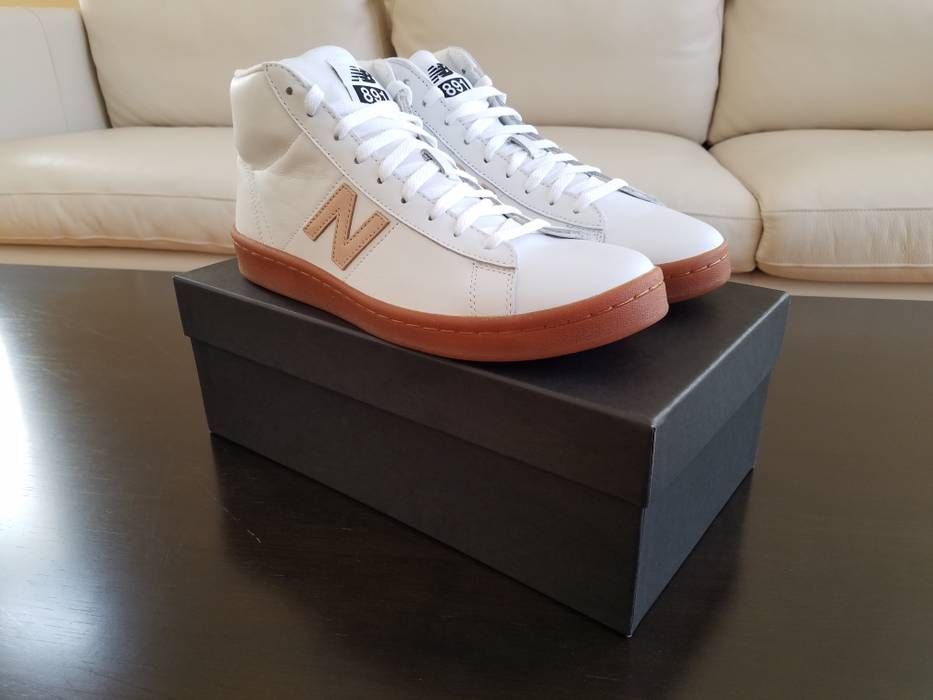 7ccc1418f9e ... reduced new balance 891 leather high top sneakers size us 8.5 eu 41 42  01fa7 a5b66