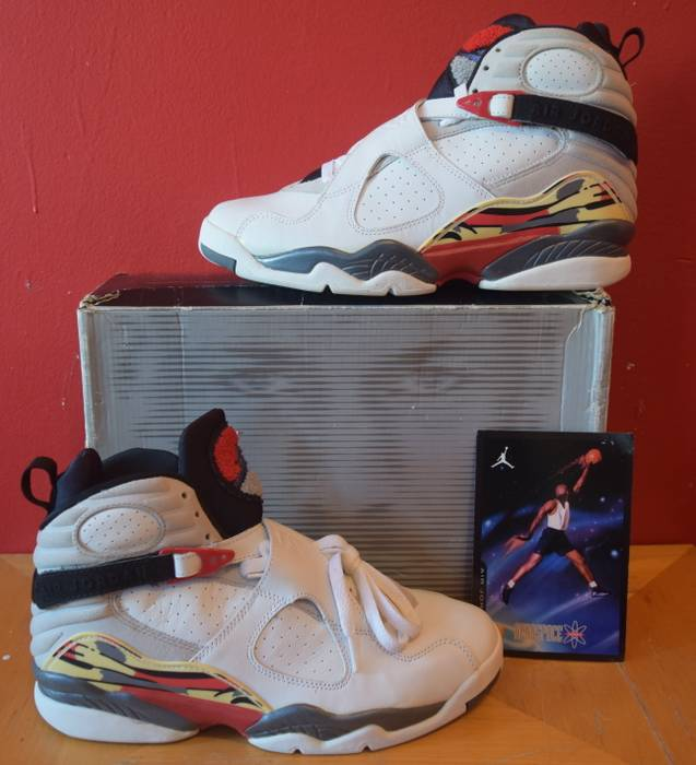 newest ac3be efbba Jordan Brand. Details about Air Jordan VIII 8 Retro 2003 NEW Size 9 White  True Red Black DEADSTOCK