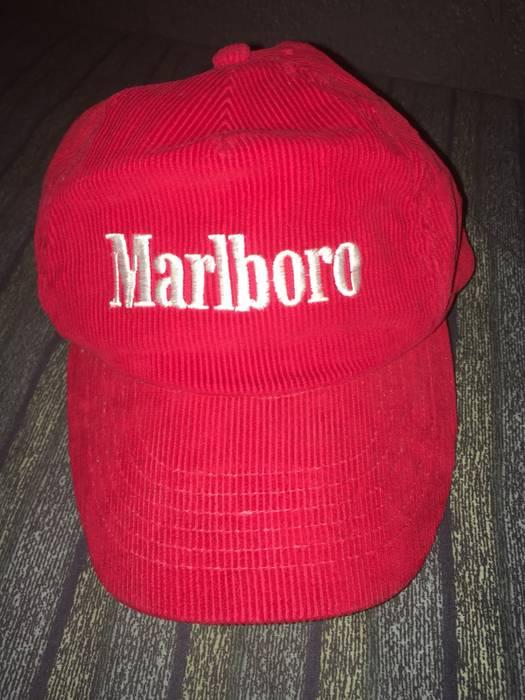Vintage Vintage Marlboro Corduroy SnapBack Hat Size one size - Hats ... 1b6c14634b6