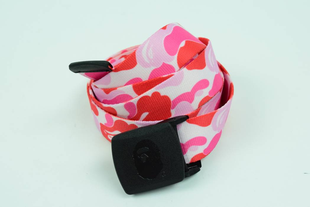 3d272f50e4d Bape OSFA One Size Fits All ABC Pink Camo Industrial Style (off ...
