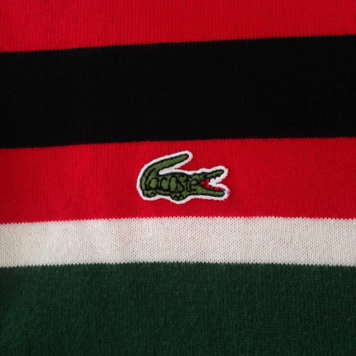 34d9756f4aa7a Lacoste Long sleeves Lacoste polo shirts embroidery logo Lacoste nice design  colourblock style medium size Size