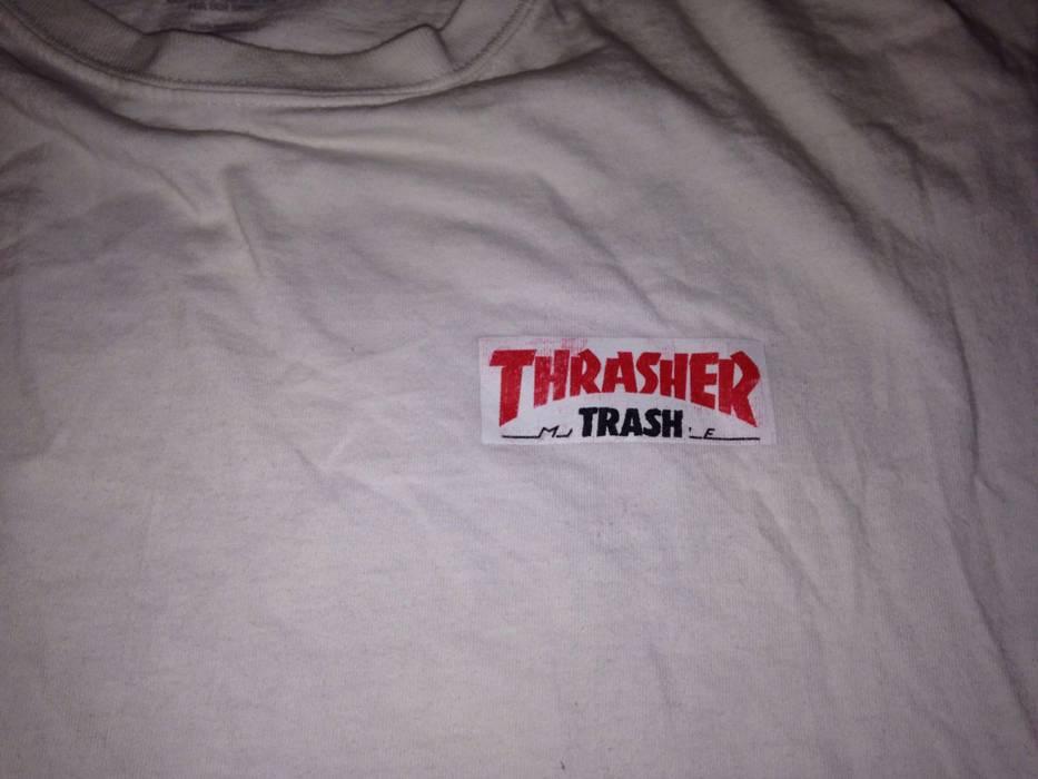 Thrasher thrasher x fucking awesome white t-shirt size large (not bape  supreme palace a2fd22119