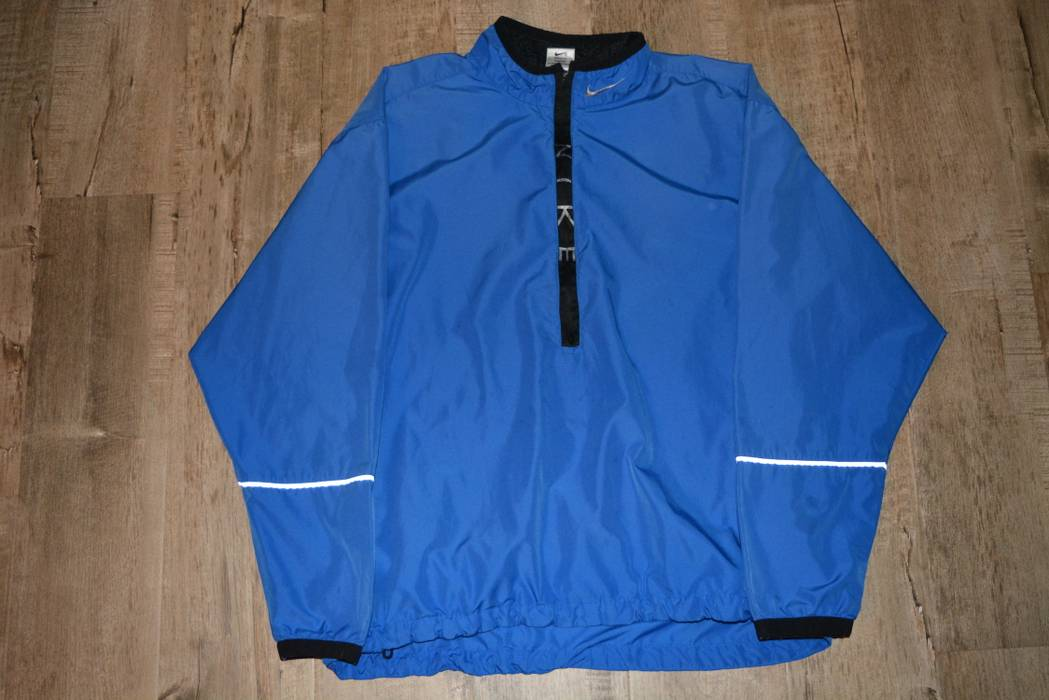 bcdf1634e7 Nike Vintage Nike 1 2 Half Zip Up 3M Windbreaker Jacket Size US L
