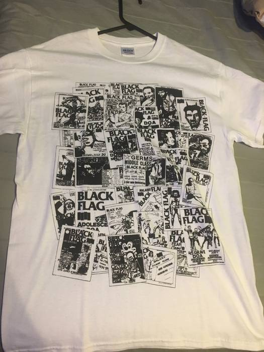 dd3d33d89 Black Flag Black flag flyers tee Size m - Short Sleeve T-Shirts for ...