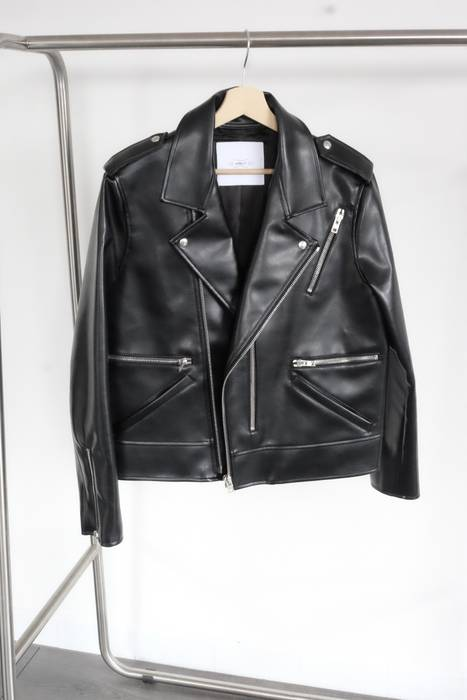 April 77 Biker Jacket   Vegan Leather Size m - Leather Jackets for ... fadf0737f6694