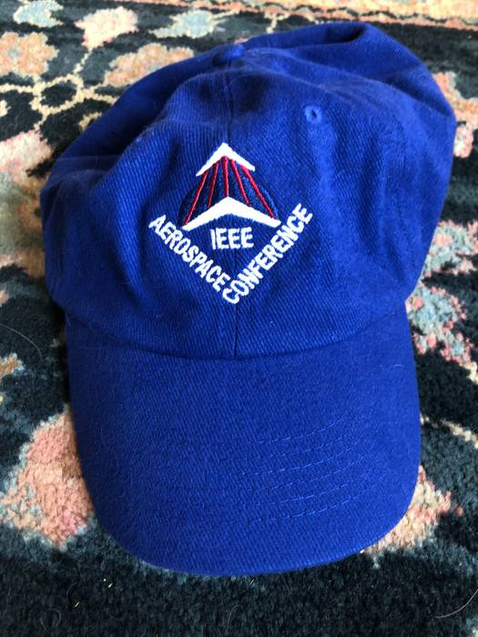 1d74d21adab Vintage Aerospace Conference Like NASA Like Weed Bro Hat Size ONE SIZE