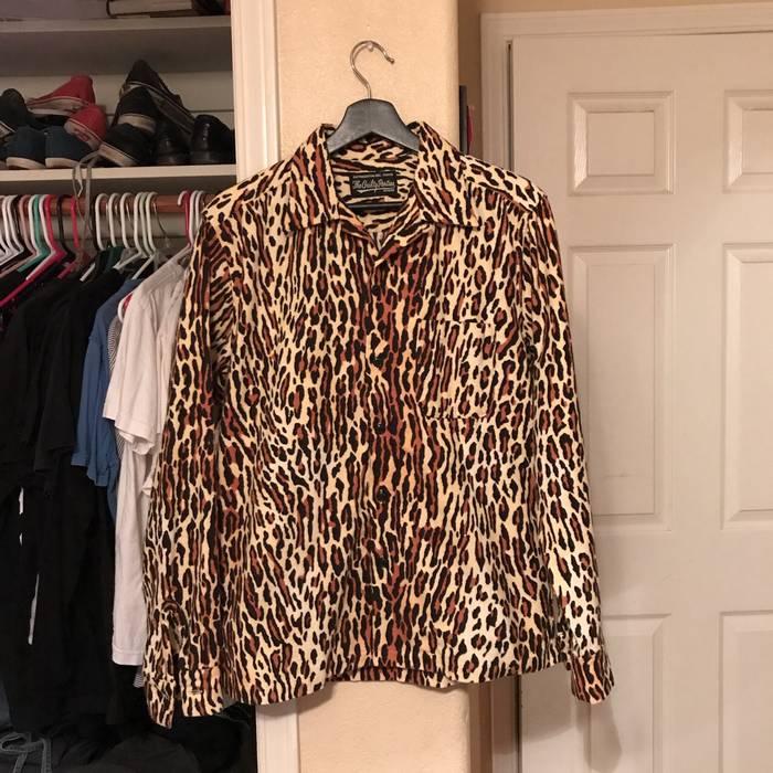 69bc0332 Wacko Maria Leopard Print Shirt Size l - Shirts (Button Ups) for ...