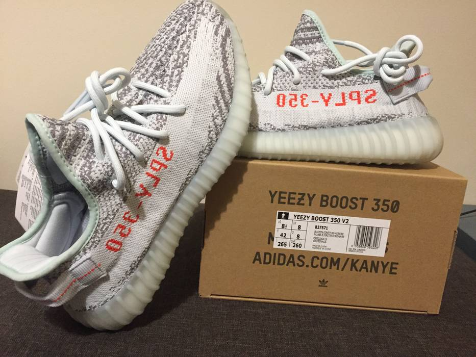6e3ae1baf93 Yeezy Boost Yeezy Boost 350 v2 Blue Tint Size 8.5 - Low-Top Sneakers ...