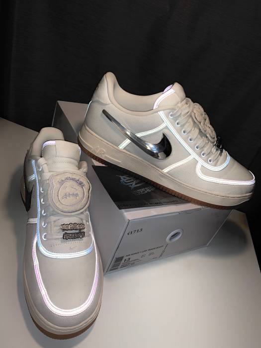 55426fc178d Nike Nike Air Force One Travis Scott Sail Size 13 - Low-Top Sneakers ...