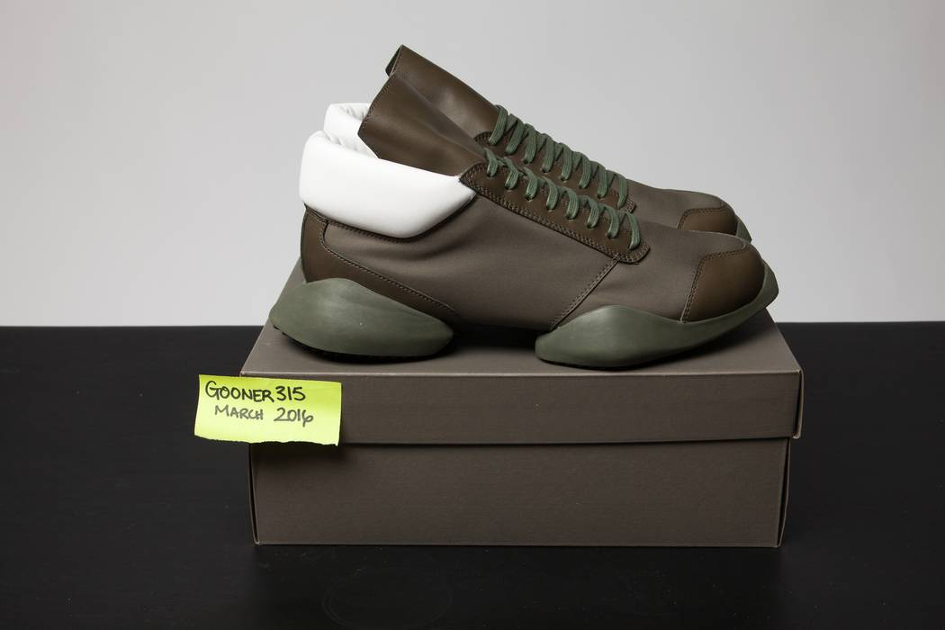 efabc5f4937d Adidas RO Runner in Earth Green Size 9 - for Sale - Grailed