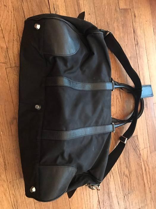 2037ef44d182 ... canada prada prada nylon and saffiano leather duffel bag size one size  1 34702 11e59