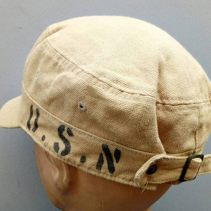 Unionmade Union Made Fab Vintage Work Wear USN Worker Cap Hat ... 5317b2c1c4a