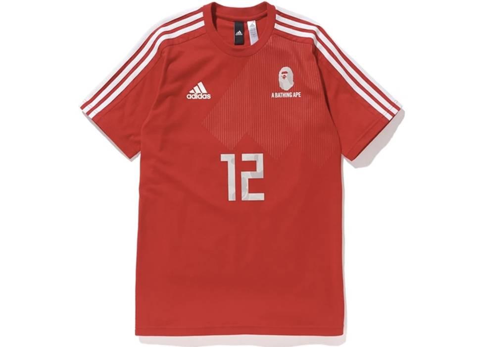 big sale a8508 9ba2e Adidas BAPE x Adidas Fifa World Cup 2018 Jersey JAPAN EXCLUSIVE Size US L   EU