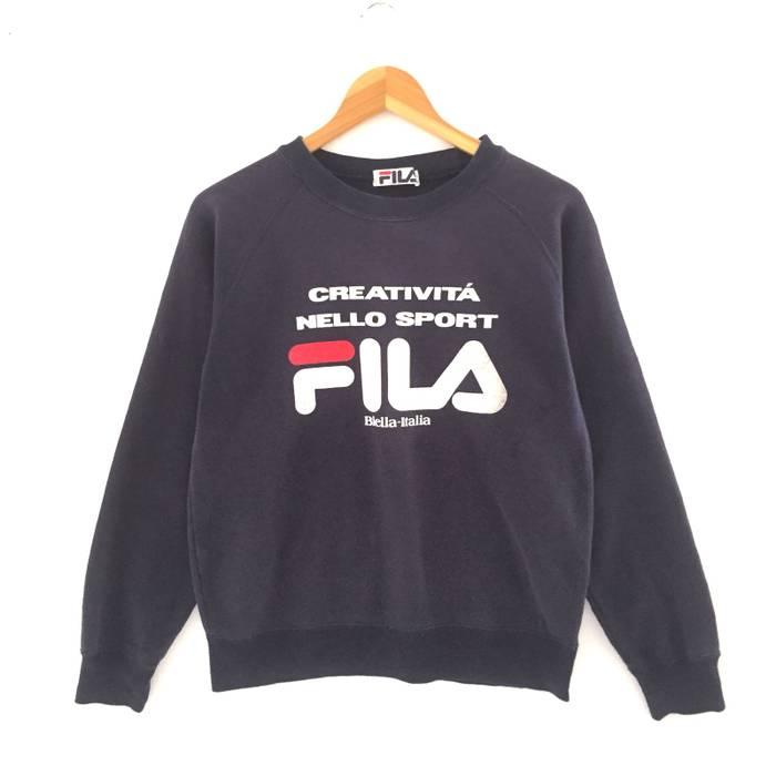 8341c3ed30d3 Fila RARE!!! Fila Vintage Sweatshirt Size m - Sweatshirts   Hoodies ...