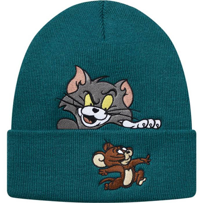 63f949a0176 Supreme Tom and Jerry Beanie Size one size - Hats for Sale - Grailed