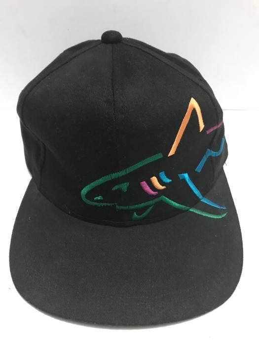 Greg Norman. Vintage Greg Norman Big Shark Strapback Adjustable Cap Black  Colour 89ba4e0e9acf