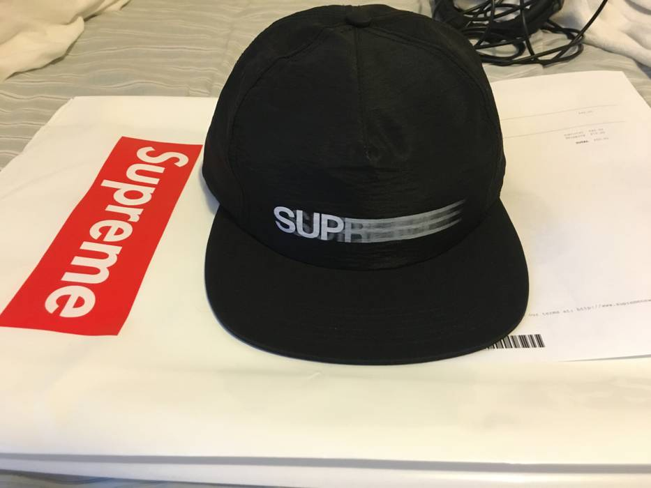 9d4dbf8d845 Supreme Motion Logo Iridescent 5 Panel Size one size - Hats for Sale ...