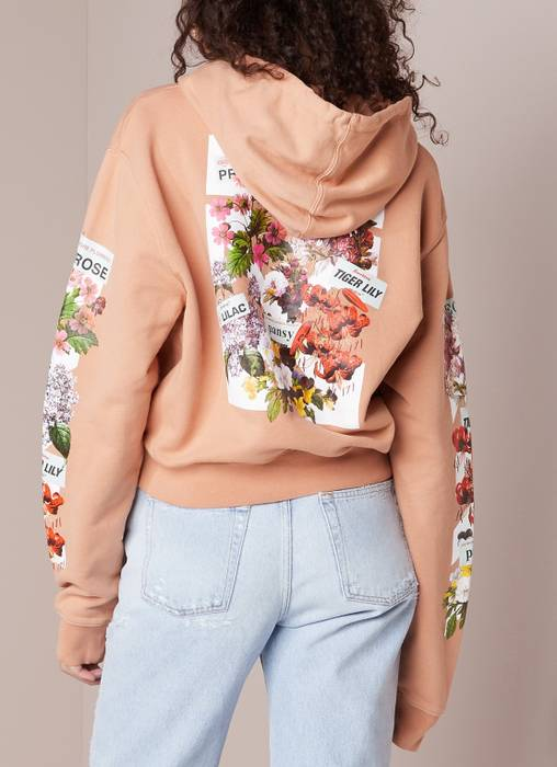 b870fb1ea954 Off-White Off-White Flower Shop Cropped Hoodie Size s - Sweaters ...
