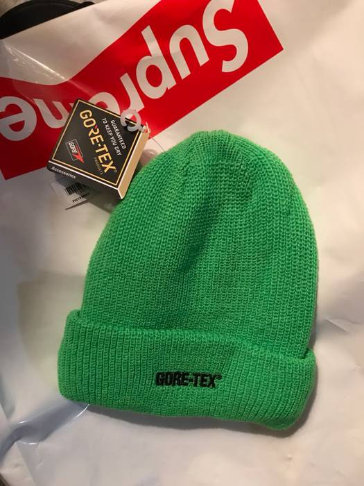 Supreme Supreme x Goretex Beanie (lime) Size one size - Hats for ... a5d3883f6963